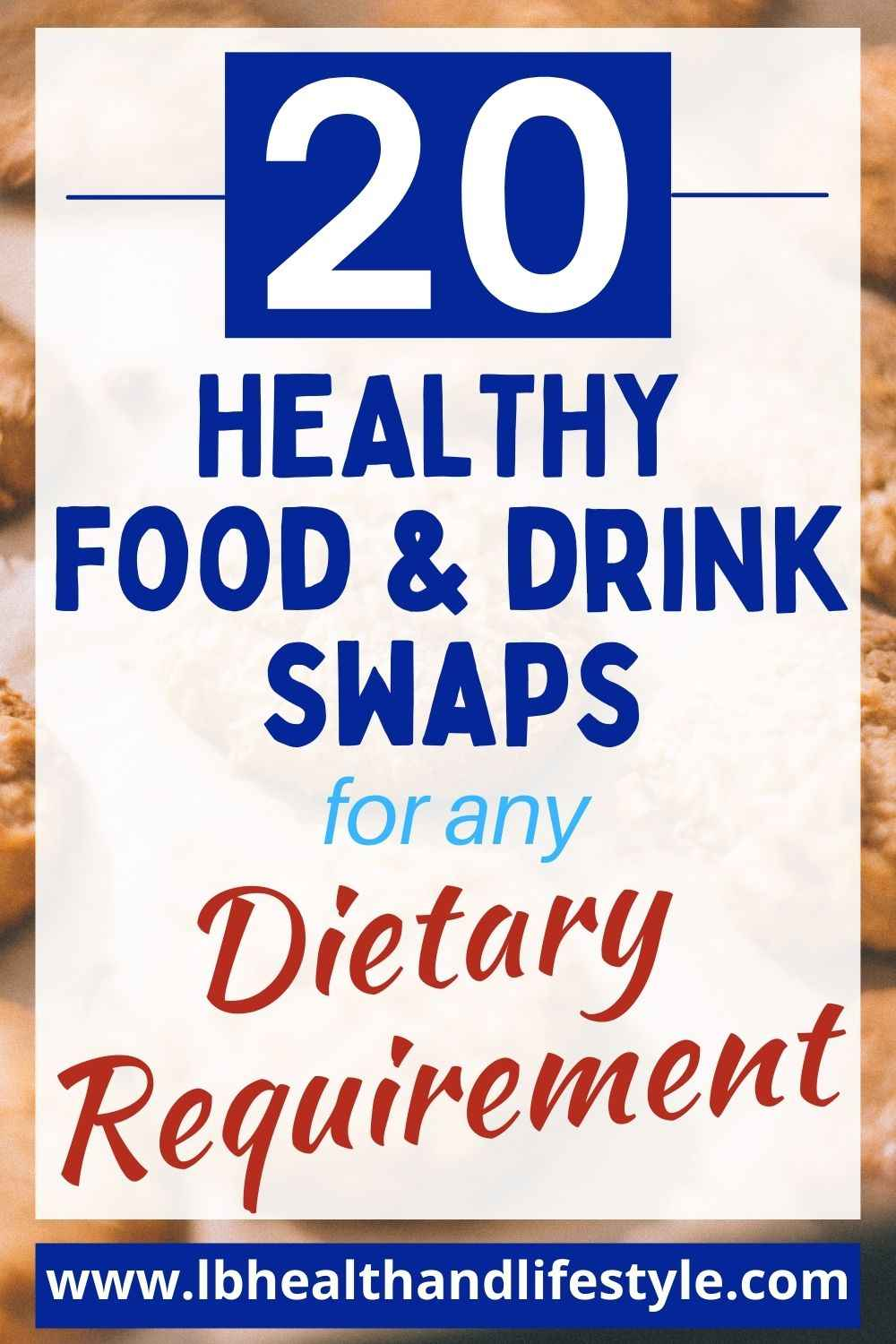 Healthy Food Swaps For Any Dietary Requirement