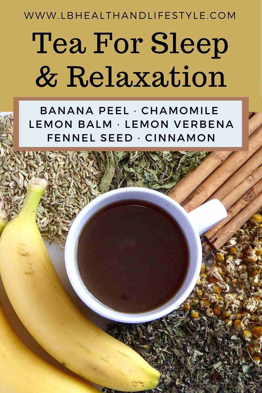 Sleep Tea Recipe – Ease Anxiety, Stress & Insomnia