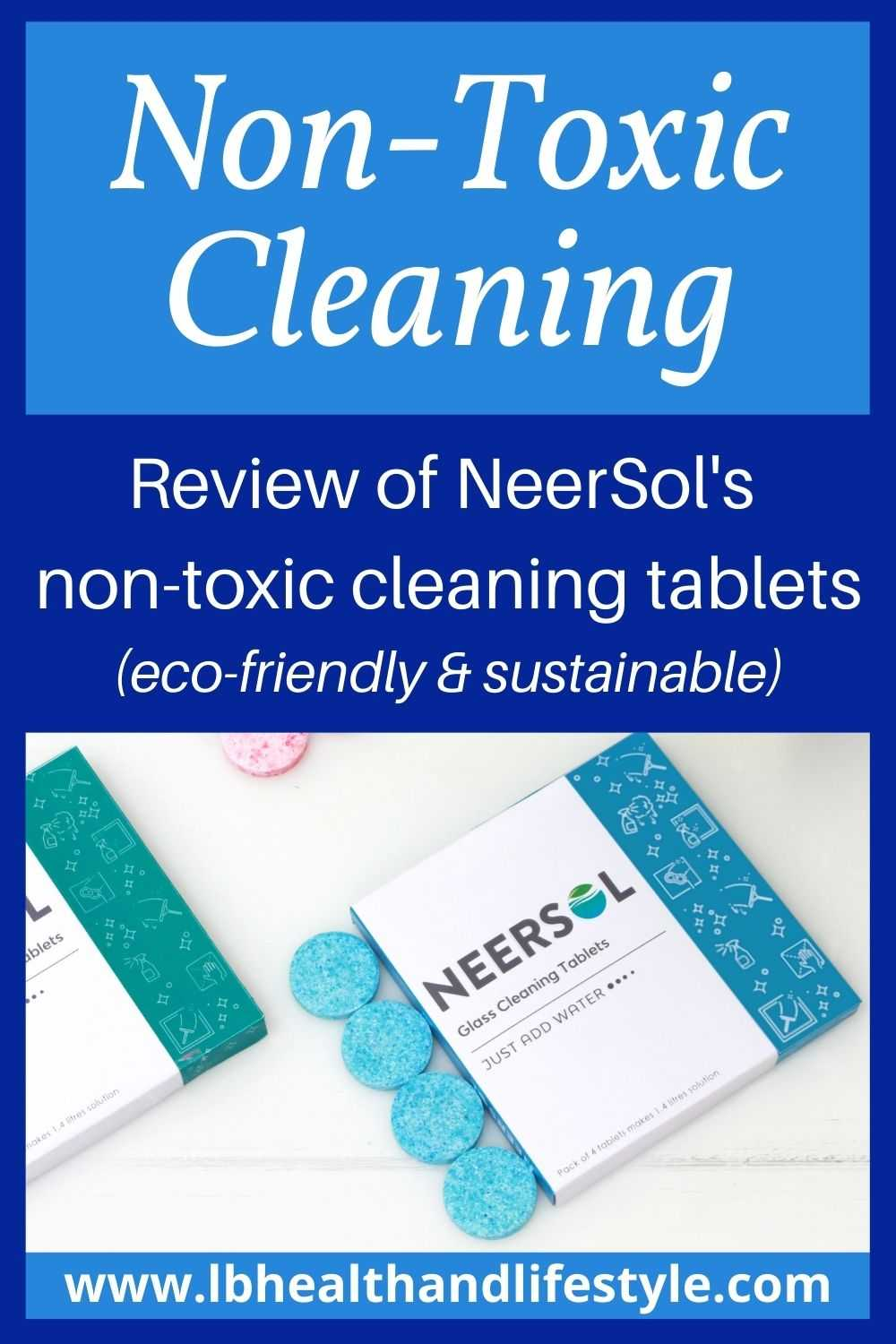 Non Toxic Glass Cleaner – Review of NeerSol